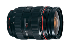 Canon, 24-70mm, f/2.8L USM, EF, Zoom, lens, rent